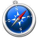 128x128px size png icon of Safari FR