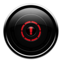 128x128px size png icon of alert2