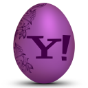 128x128px size png icon of yahoo