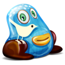 128x128px size png icon of Twitter Monster