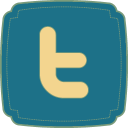 128x128px size png icon of Twitter 2