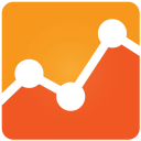 128x128px size png icon of Google Analytics