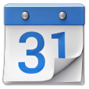 128x128px size png icon of Google Calendar