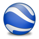 128x128px size png icon of Google Earth