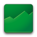 128x128px size png icon of Google Finance