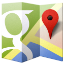 128x128px size png icon of Google Maps