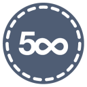 128x128px size png icon of 500px