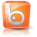 128x128px size png icon of Badoo
