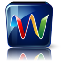 128x128px size png icon of Google wave