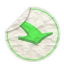 128x128px size png icon of dowload