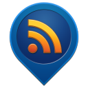 128x128px size png icon of rss feed