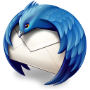 128x128px size png icon of Thunderbird