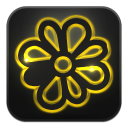 128x128px size png icon of icq
