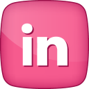 128x128px size png icon of Active LinkedIn