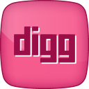 128x128px size png icon of Hover Digg