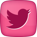 128x128px size png icon of Hover Twitter 2