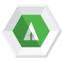 128x128px size png icon of forrst