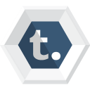 128x128px size png icon of tumblr