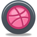 128x128px size png icon of Dribble