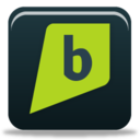 128x128px size png icon of brightkite