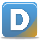 128x128px size png icon of disqus