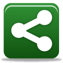 128x128px size png icon of sharethis