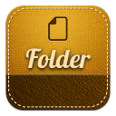 128x128px size png icon of folder