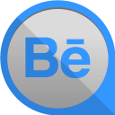 128x128px size png icon of behance