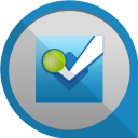 128x128px size png icon of foursquare 2