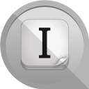 128x128px size png icon of instapaper