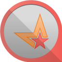 128x128px size png icon of metacafe