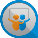 128x128px size png icon of slideshare