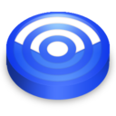 128x128px size png icon of Rss blue circle