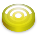 128x128px size png icon of Rss lemon circle