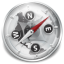 Safari Silver Icon