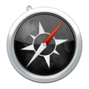 128x128px size png icon of safari3