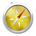 128x128px size png icon of safari8
