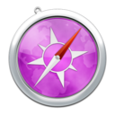 128x128px size png icon of safari9