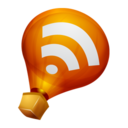 128x128px size png icon of Ballon RSS Feed