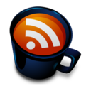 128x128px size png icon of Coffee Cup RSS Feed