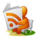 128x128px size png icon of Newspaper RSS Feed