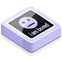 128x128px size png icon of I am bored