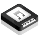 128x128px size png icon of Piano