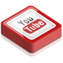 128x128px size png icon of You Tube