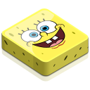 128x128px size png icon of spongebob