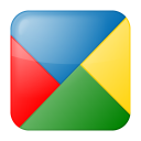 128x128px size png icon of social google buzz box