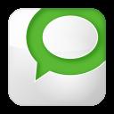 128x128px size png icon of social technorati box white