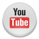 128x128px size png icon of youtube