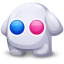 128x128px size png icon of Flickr creatures