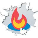 128x128px size png icon of social inside feedburner